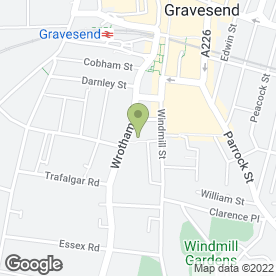 Map of Heating & Plumbing Solutions in Gravesend, kent