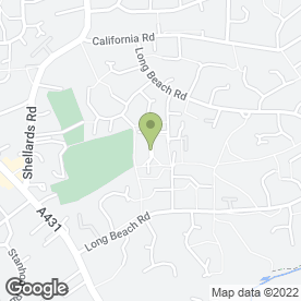 Map of WESTERN CLEANING CO in Longwell Green, Bristol, avon