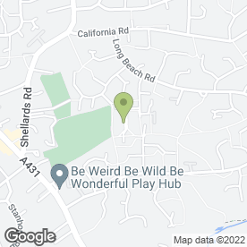 Map of You Wood Ltd in Longwell Green, Bristol, avon