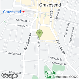 Map of M & D Wine Merchants in Gravesend, kent