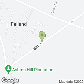 Map of Long Ashton P.O in Long Ashton, Bristol, avon
