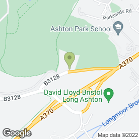 Map of Dovecote Vintage Inn in Long Ashton, Bristol, avon