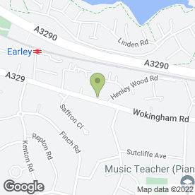 Map of Ikon Hair & Nails in Earley, Reading, berkshire