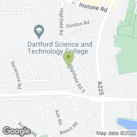 Map of D.J Sounds Mobile Disco in Dartford, kent