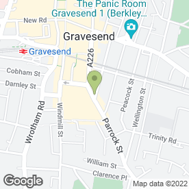 Map of Foresters Arms in GRAVESEND, kent