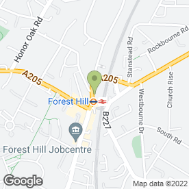 Map of Leaders Base Forest Hill in London, london
