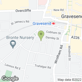 Map of Luke's Tyres in Gravesend, kent