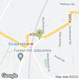 Map of Forest Hill Radio Cars in London, london