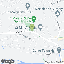 Map of M.D Mackinnon Builder Ltd in Calne, wiltshire