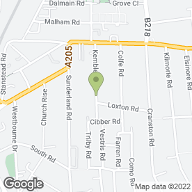 Map of Forest Hill Heating And Boiler Specialists in London, london