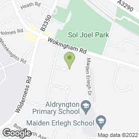 Map of Delta School of Motoring in Earley, Reading, berkshire