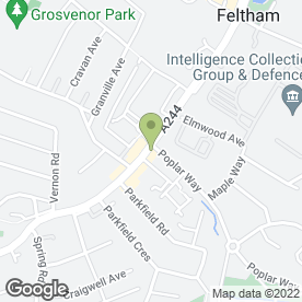 Map of King Kebab in Feltham, middlesex
