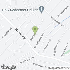 Map of Fusion Graphics Ltd in Sidcup Kent, kent