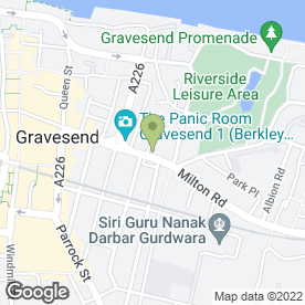 Map of TJ's Pub in Gravesend, kent