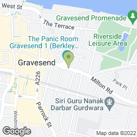 Map of CAKE BOX in Gravesend, kent