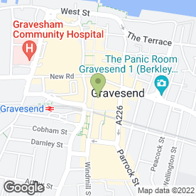 Map of Sukhothai in Gravesend, kent