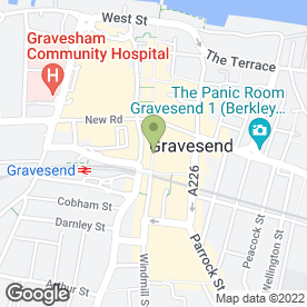 Map of Sally Salon Services in Gravesend, kent