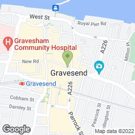 Map of Pro-Estates in Gravesend, kent