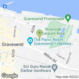 Map of TOWER TYRES in Gravesend, kent