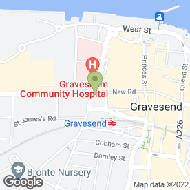 Map of Wheatsheaf in Gravesend, kent