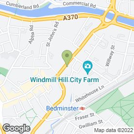 Map of Zed & Co in Bedminster, Bristol, avon