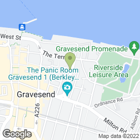 Map of Pockets in Gravesend, kent