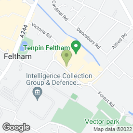 Map of Chiquito in Feltham, middlesex