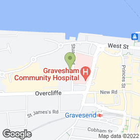 Map of Featured Flooring Ltd in Gravesend, kent