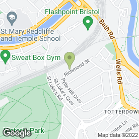 Map of Gael Allan in Bristol, avon