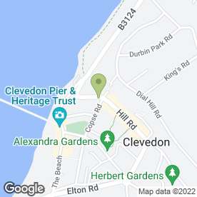 Map of The Cellar in Clevedon, avon