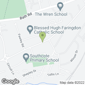 Map of Graeme Ford (Bsc Csci Cchem Mrsc) in Reading, berkshire
