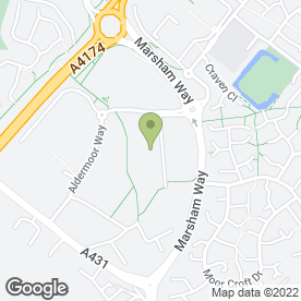 Map of Bristol Hirebase in Bristol, avon