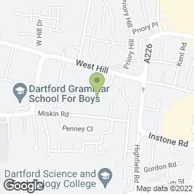 Map of DY Eastern Foods in Dartford, kent