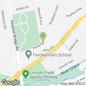 Map of Twickenham Plumbing & Heating - Boiler Breakdowns in Twickenham, middlesex