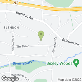 Map of C A Holland in Bexley, kent