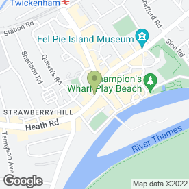 Map of Carphone Warehouse in Twickenham, middlesex