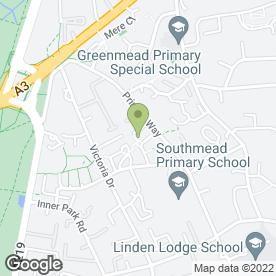 Map of Amaani Hair & Beauty in Wimbledon, London, london