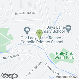 Map of Vale Decorators in Sidcup, kent