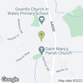 Map of VIP Wedding Cars in Cardiff, south glamorgan