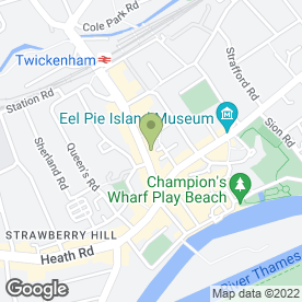 Map of Thames Audio Video in Twickenham, middlesex