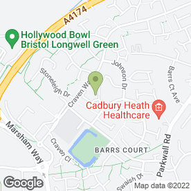 Map of Apre Surfacing Ltd in Barrs Court, Bristol, avon