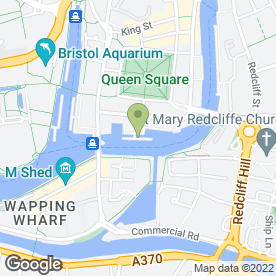 Map of Mud Dock Cafe in Bristol, avon