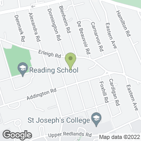 Map of J.W Wyeth in Reading, berkshire