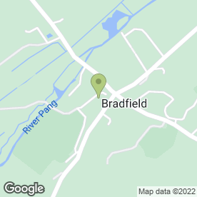 Map of Bradfield College Enterprises Ltd in Bradfield, Reading, berkshire