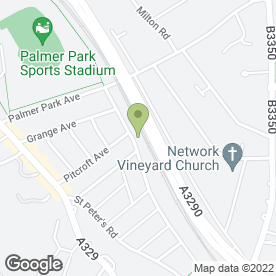 Map of Allington Gardening in Reading, berkshire