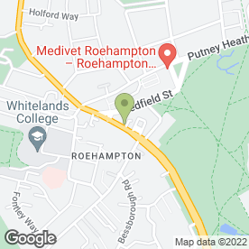 Map of Roehampton Dental Care in London, london