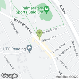 Map of Topiary Hair Studio in Reading, berkshire