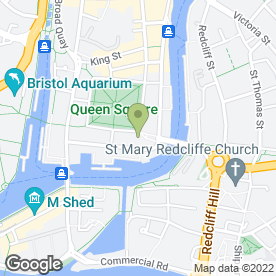 Map of Web Design Agency in Bristol, avon