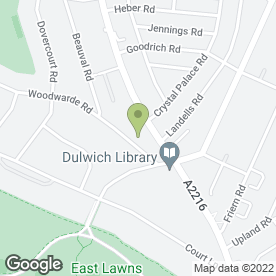 Map of Dulwich Podiatry Ltd in Dulwich, London, london