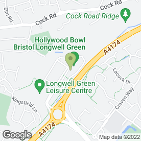 Map of Frankie & Benny's in Bristol, avon